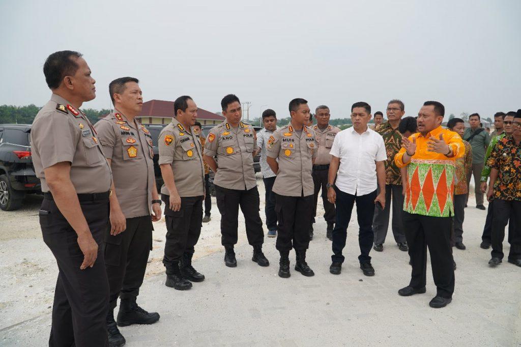 Bupati Kampar Dampingi Kapolda Riau Kunjungi SPN Tambang
