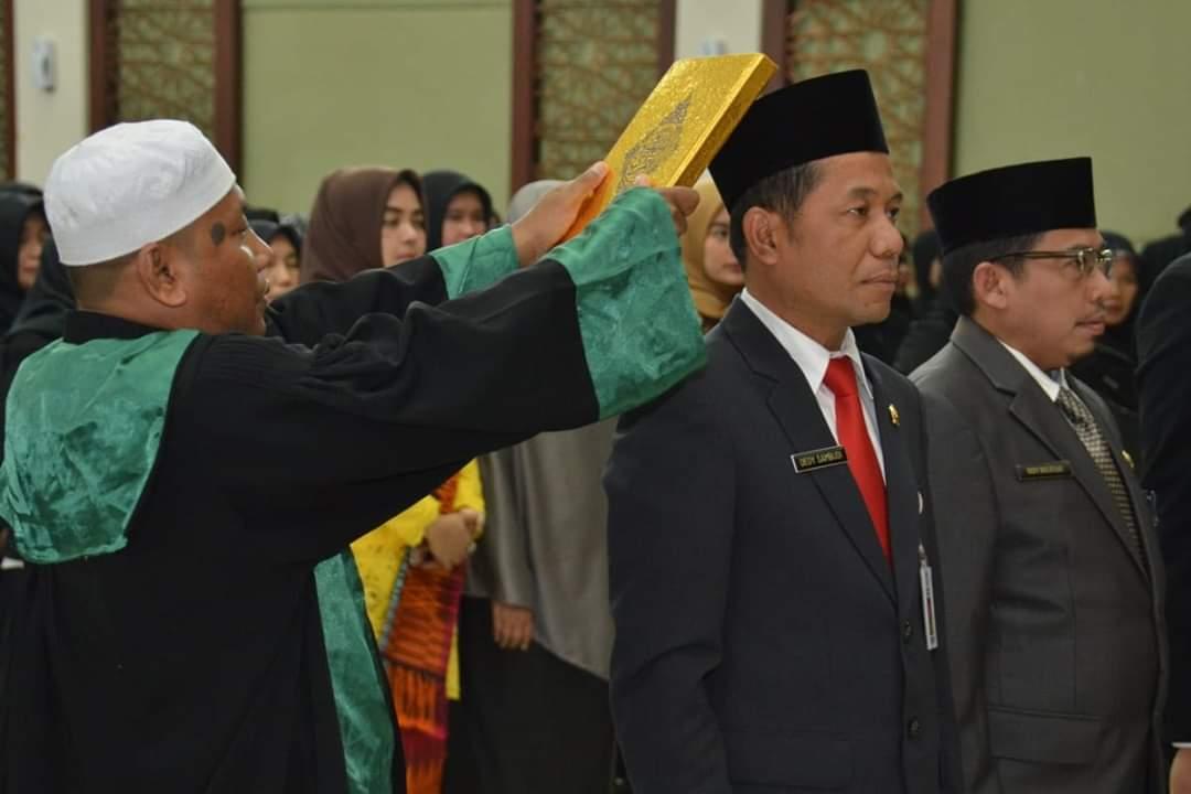 Bupati Lantik 6 Pejabat Struktural dan 351 Pejabat Fungsional dilingkungan Pemkab Kampar