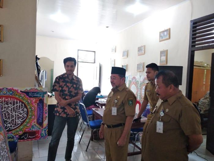 H.Bustami meninjau Proses TC Peserta Kafilah LPTQ Kabupaten Bengkalis