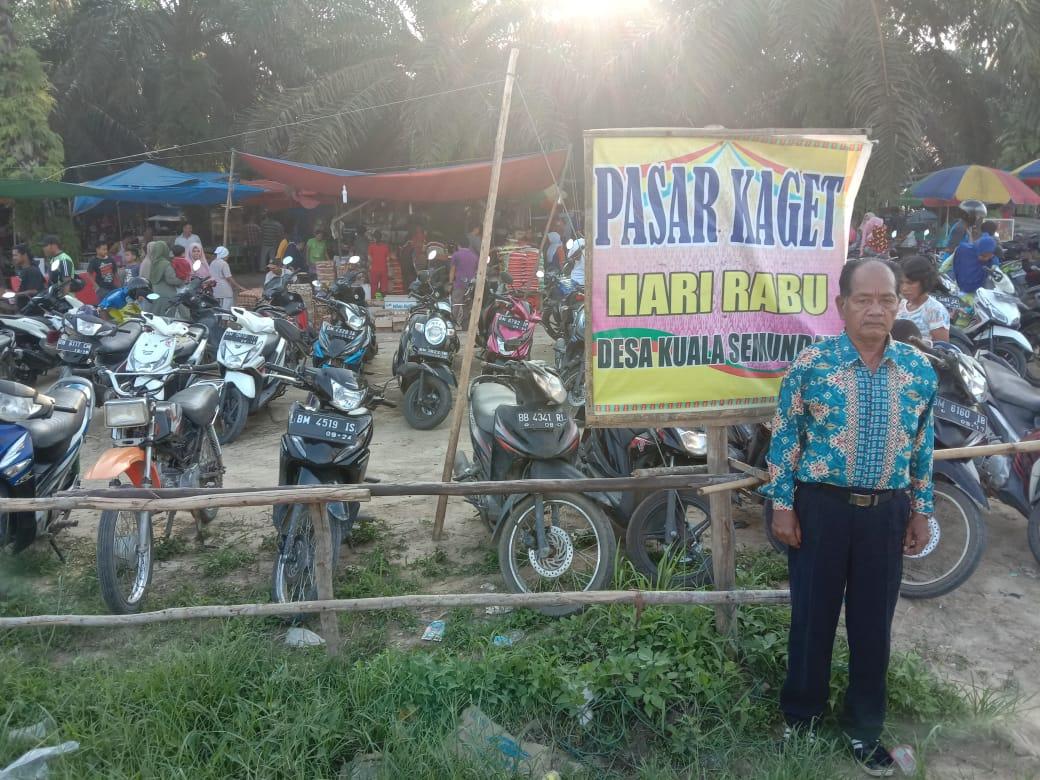 Pasar Kaget Desa Kuala Sumedam Murah Meriah Dan Berkwalitas