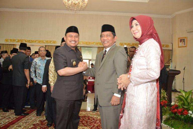 Bupati Kampar Hadiri Pelantikan Dan Pengambilan Sumpah Jabatan Dan Serah Terima Jabatan Sekda Provinsi Riau