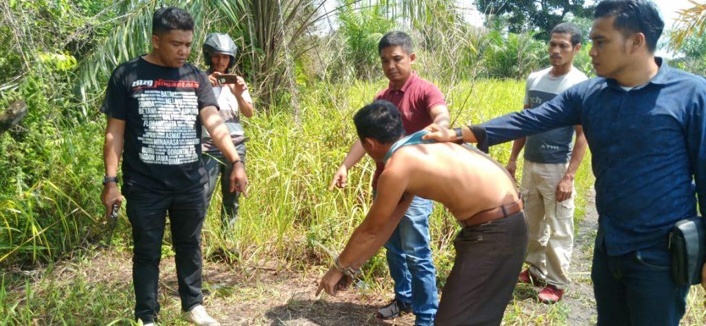 Pria Bejat ini Ditangkap Polsek Tambang Karena Perkosa Ponakannya