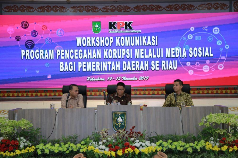 Cegah Korupsi,KPK Gencar Manfaatkan Medsos