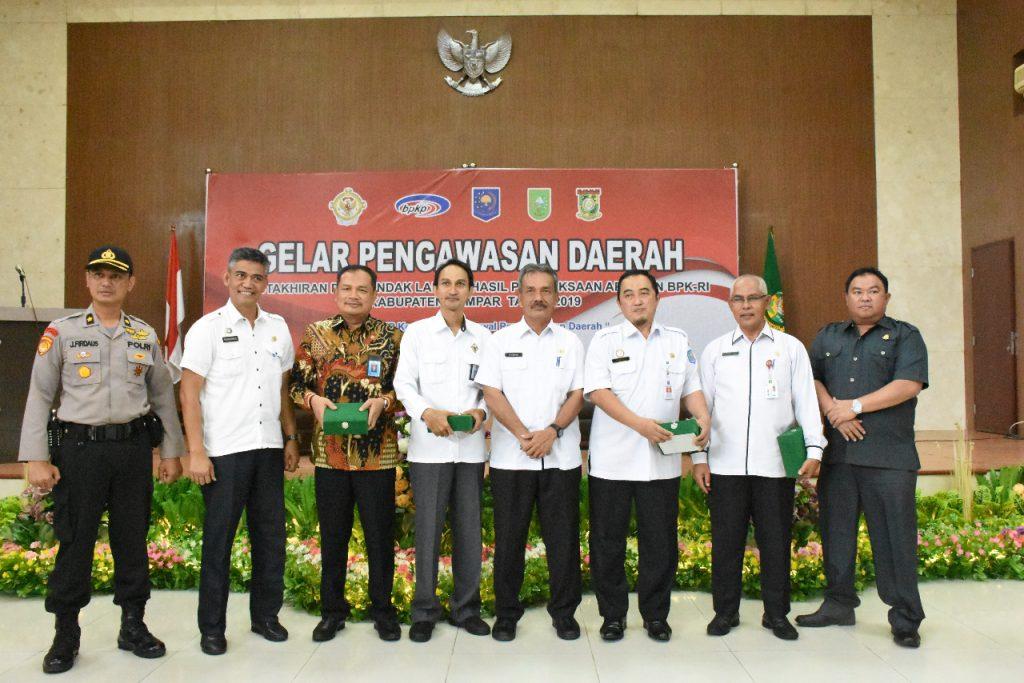 Inspektorat Kampar Selenggarakan Rapat Gelar Pengawasan Daerah