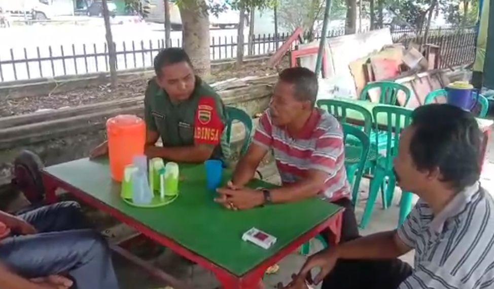 Babinsa Koramil 07/Kampar Adakan Komsos dengan Warga Binaan