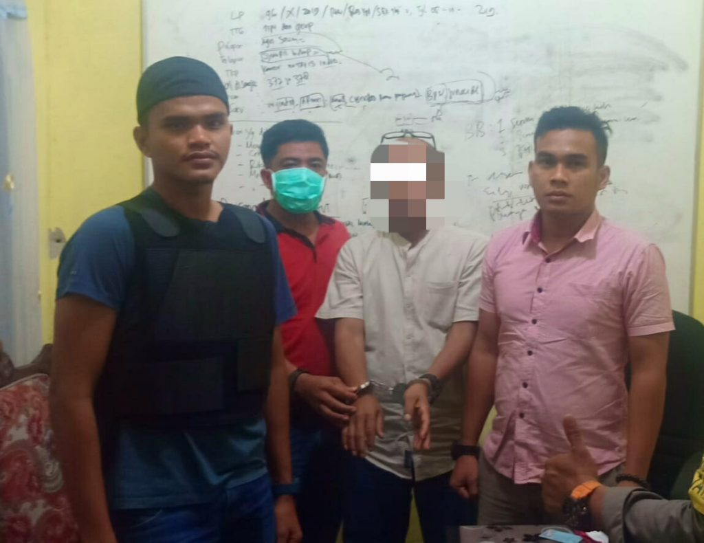 Ketahuan Istri Cabuli Anak Tirinya, Pelaku Dilaporkan ke Polisi dan Mendekam di Sel Polsek Tambang