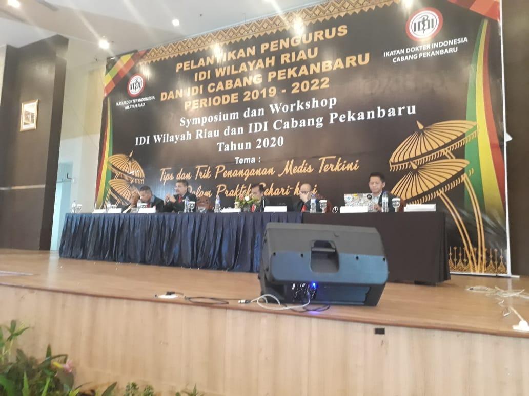 Raker IDI Resmi Dibuka Ketua Umum IDI Wilayah