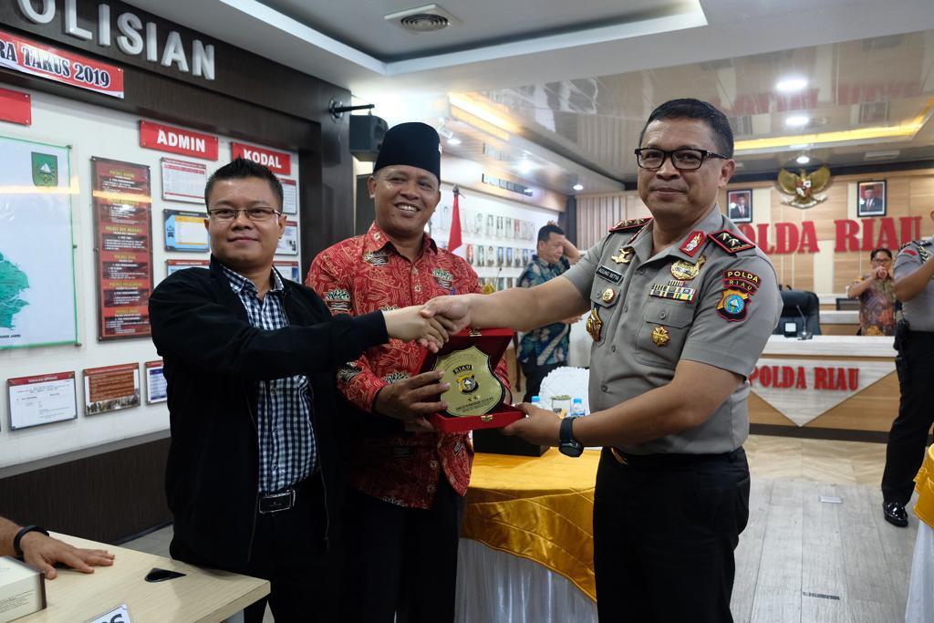 Kapolda Riau Ajak Kalangan Akademisi Diskusikan Prediksi Masalah Karhutla Tahun 2020