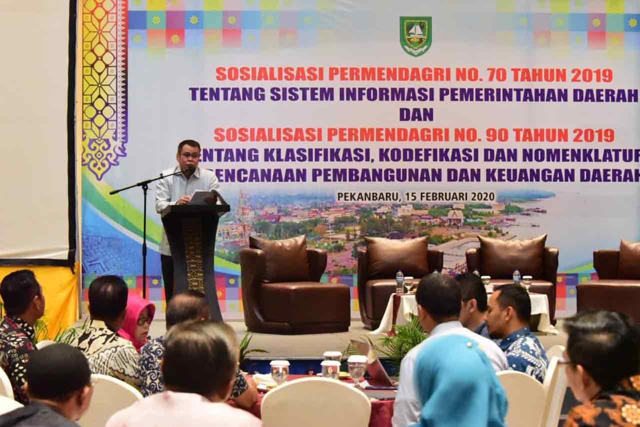 Plt. Bupati: 4 Poin Penting Terkait Penyelenggaraan Pemerintahan Kabupaten Bengkalis