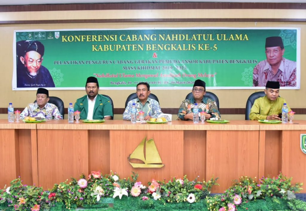 Konfercab NU Kabupaten Bengkalis Ke 5 Resmi Dibuka Plt. Bupati Bengkalis