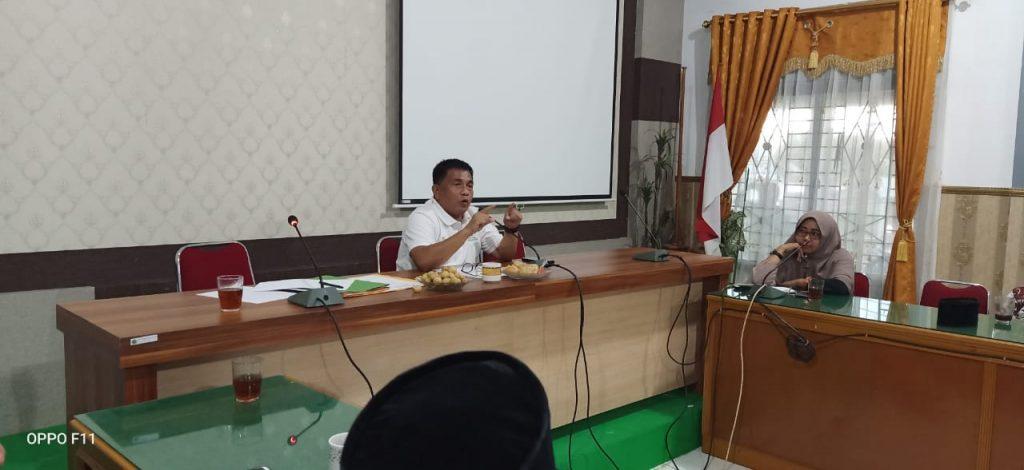 Kakan Kemenag Kampar Pimpin Langsung Rapat Persiapan Silaturrahmi Akbar Dan Pelantikan PD. IPHI Kampar