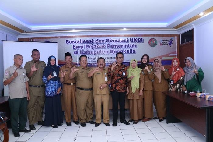Sosialisasi dan Simulasi Uji Kemahiran Berbahasa Indonesia di Bengkalis