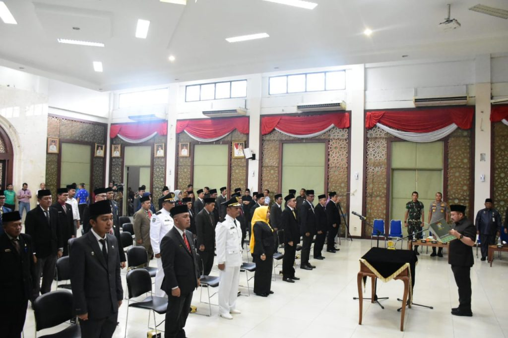 Bupati Kampar lantik 47 Orang Pejabat Administrator dan Pengawas