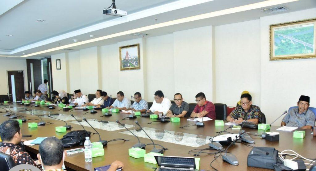 Pansus RTRW Dan RDRT Dengan Dinas PUPRPKPP Provinsi Riau