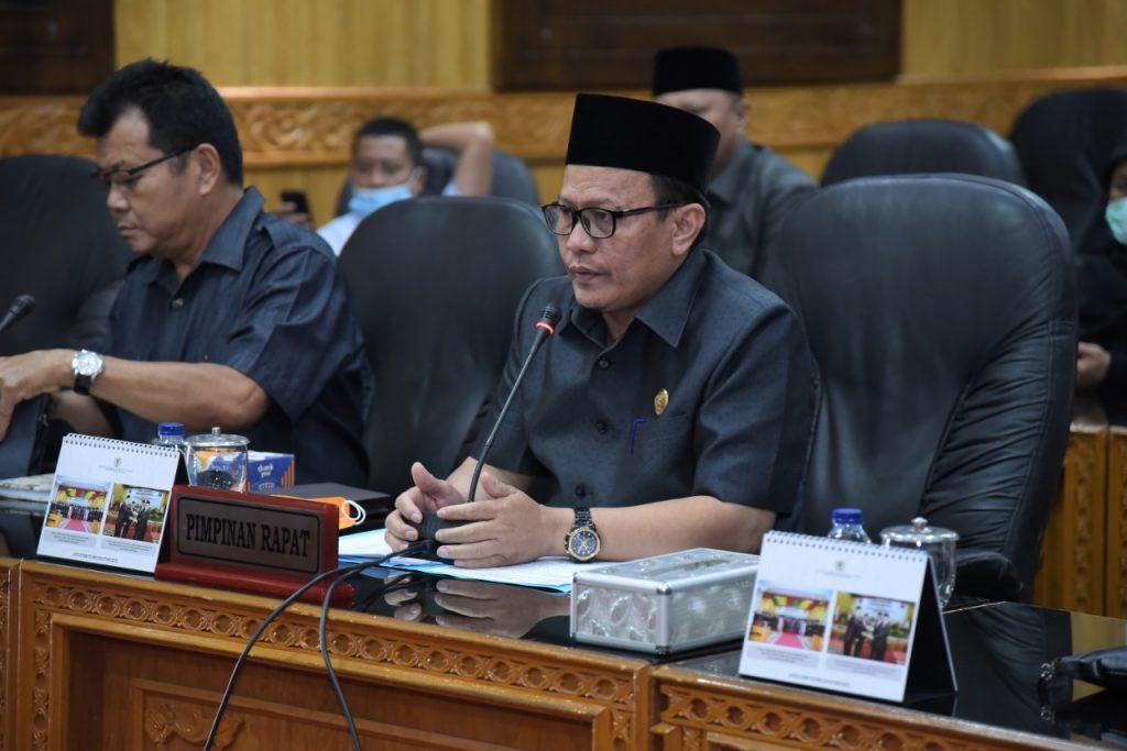 Rapat Kerja Lintas Komisi DPRD Kabupaten Bengkalis Terkait Penangganan Penyebaran COVID-19 di Kabupaten Bengkalis,