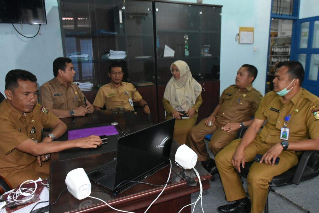 Musrenbang Video Confrense Pertama di Riau Bahkan di Indonesia Sukses Dilaksanakan