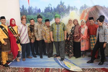 Menristek dan Kepala BPPT RI Kunjungi Kabupaten Pelalawan