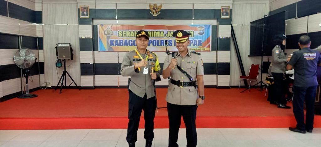 Kabag Ops Polres Kampar Pindah Tugas Sebagai Kabag Ops Polresta Pekanbaru