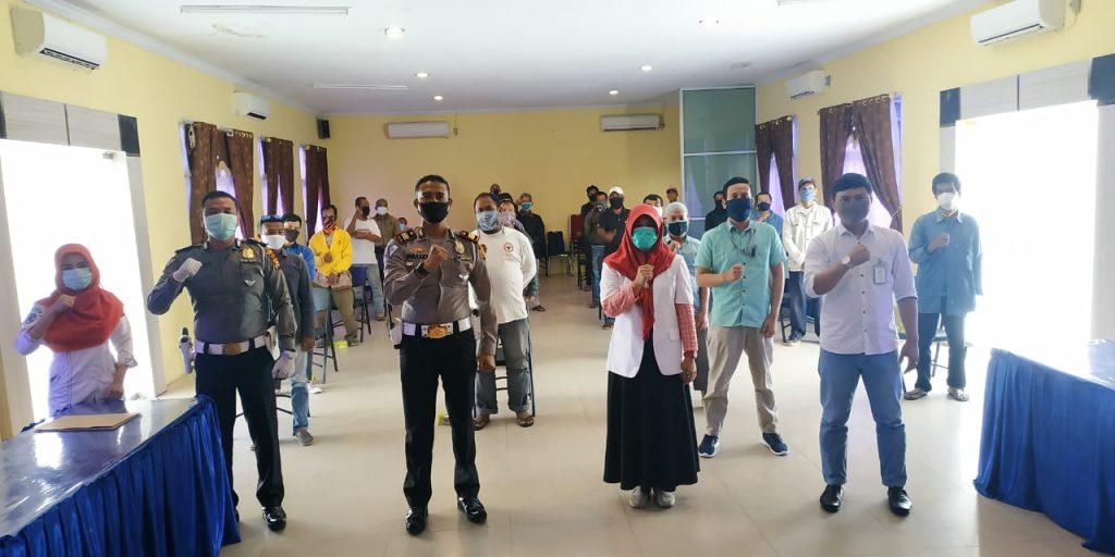 Polres Kampar Laksanakan Program Polri Peduli Keselamatan Gegah Covid-19