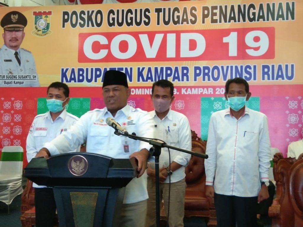 Ini Data Covid-19 Kabupaten Kampar Saat Ini Jum'at 17 April 2020