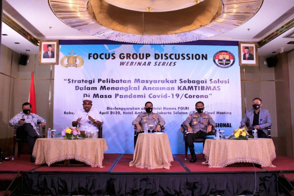 Kakorbinmas Jadi Narasumber Dalam Kegiatan Focus Group Discusion