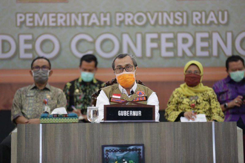 Gubri: Ada Empat Daerah di Riau Masuk Transmisi Lokal
