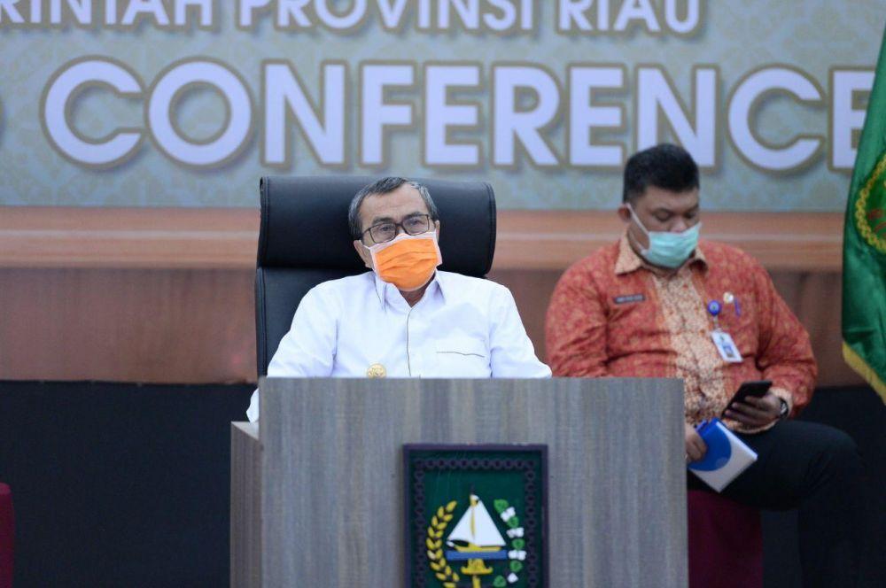 Gubri Ikuti Musrenbangnas 2020 Melalui Video Conference