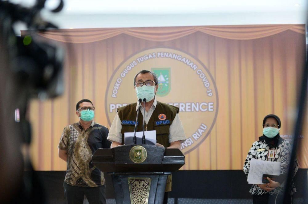 Gubri: Pasien Positif di Riau Bertambah 4 Kasus