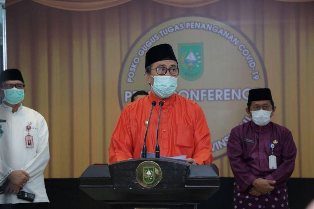 Riwayat Perjalanan Pasien Positif Covid-19 di Riau Rata-rata Berasal dari Daerah Terjangkit