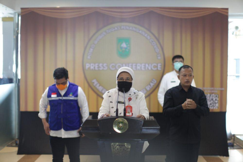 1 Pasien Positif Sembuh, Total 63 Kasus Dinyatakan Sembuh Covid-19 di Riau