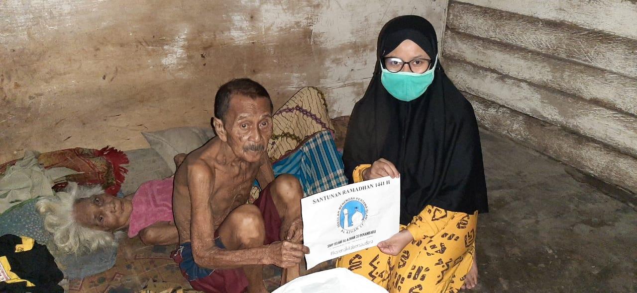 Kondisi Istri Terbaring Tak Berdaya, Pak Ara Pasrah Jalani Hari Tua Memprihatinkan
