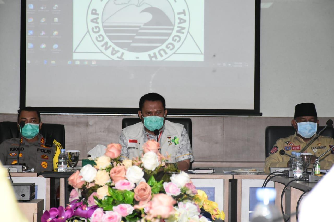Rapat Evaluasi Pembatasan Sosial  Bersekala Besar (PSBB)