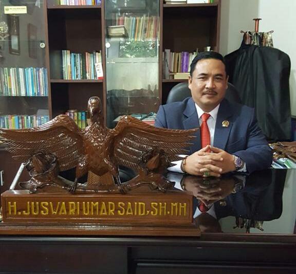 Juswari, Ketua Fraksi Demokrat DPRD Kampar Ingatkan Penggunaan Anggaran Pandemi Covid-19, Harus Tepat Sasaran dan Jangan Sampai di Korupsi