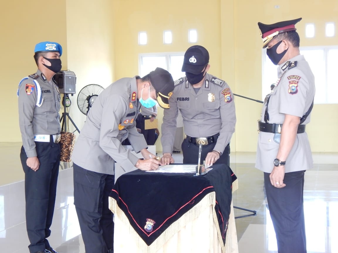 3 Jabatan Utama Dijajaran Polres Kampar Diserahterimakan Hari ini