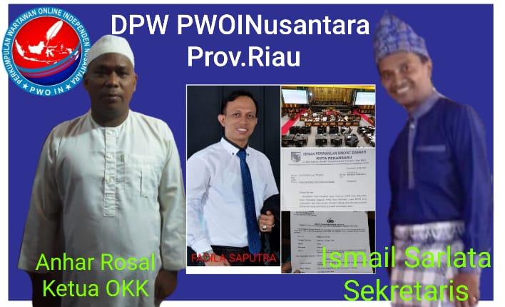 Apresiasi Kinerja Polresta Pekanbaru akan dugaan Premanisme dan Pengusiran Wartawan, Ini Pinta Anhar Rosal dan Ismail Sarlata Ketua OKK dan Sekretaris DPW PWOINusantara Riau