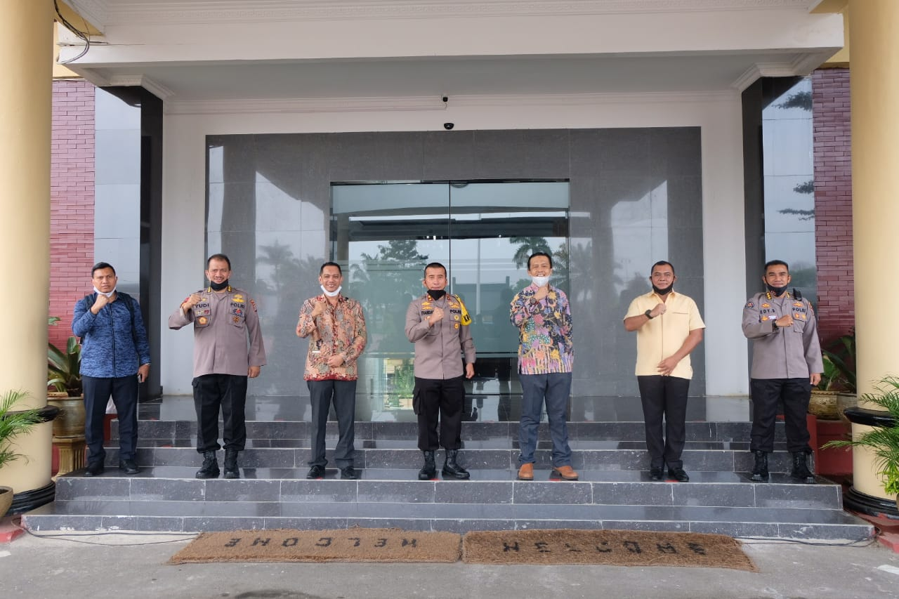 Perkuat Sinergitas Antar Lembaga, KPK RI Kunjungi Polda Banten