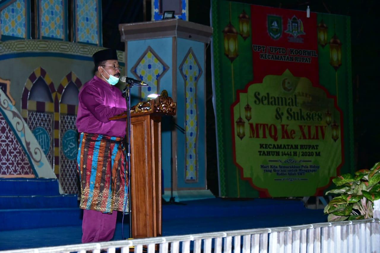 MTQ Ke-44 Tingkat Kecamatan Rupat Resmi Di Buka