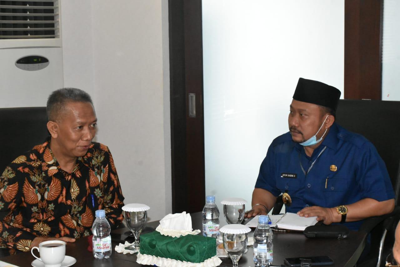 Bupati Kampar Terima Kunjungan Rektor UIR Dan Dirut Pascasarjana