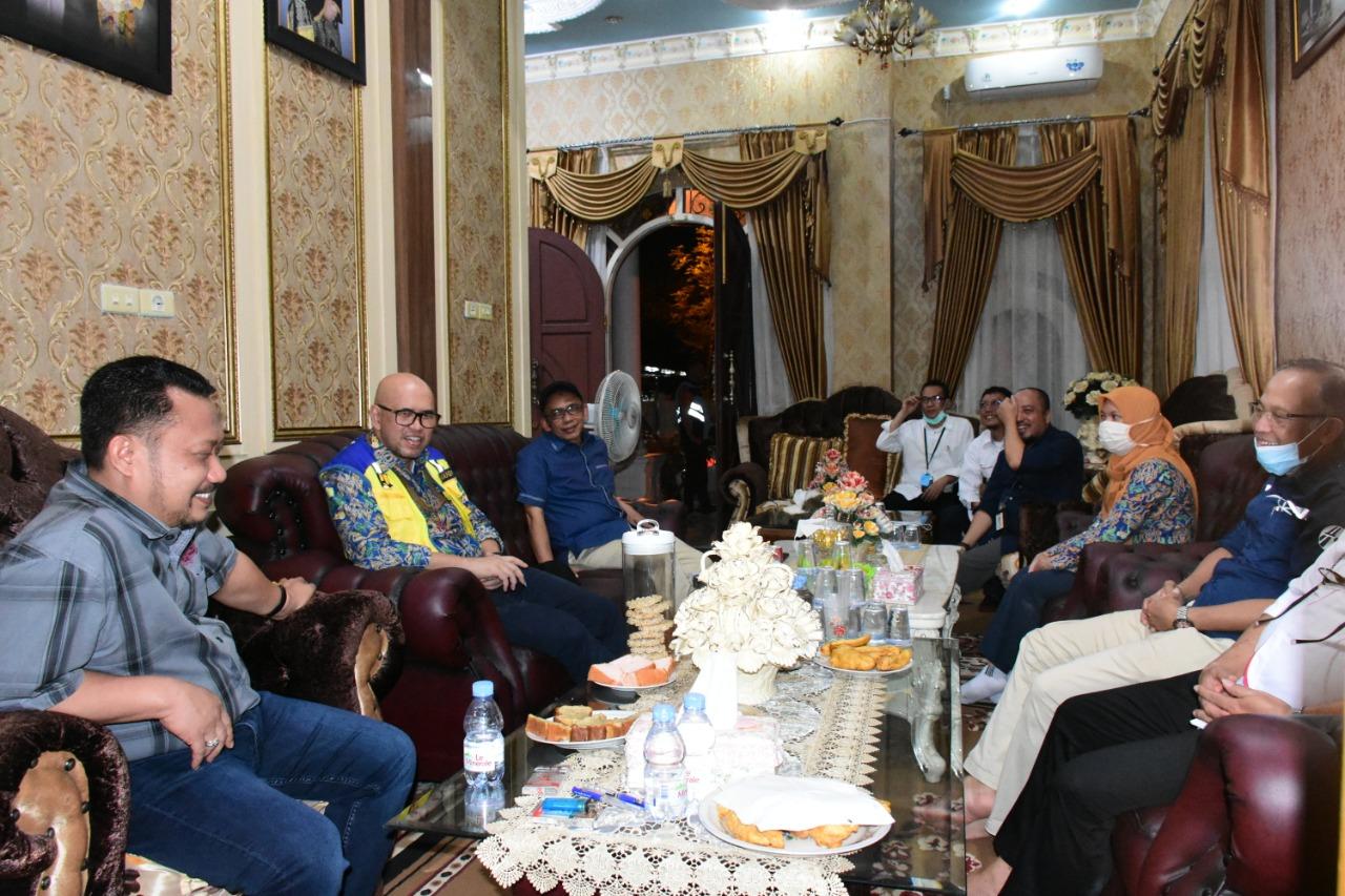 Bupati Kampar Terima Kunjungan Kepala BPJT Pusat