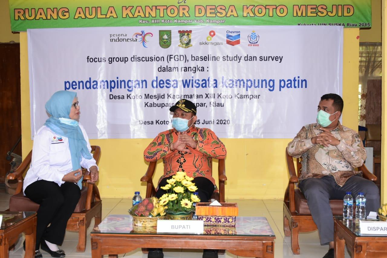 Focus Group Discution Baseline Study Dan Survey Dalam Rangka Pendampingan Desa Wisata