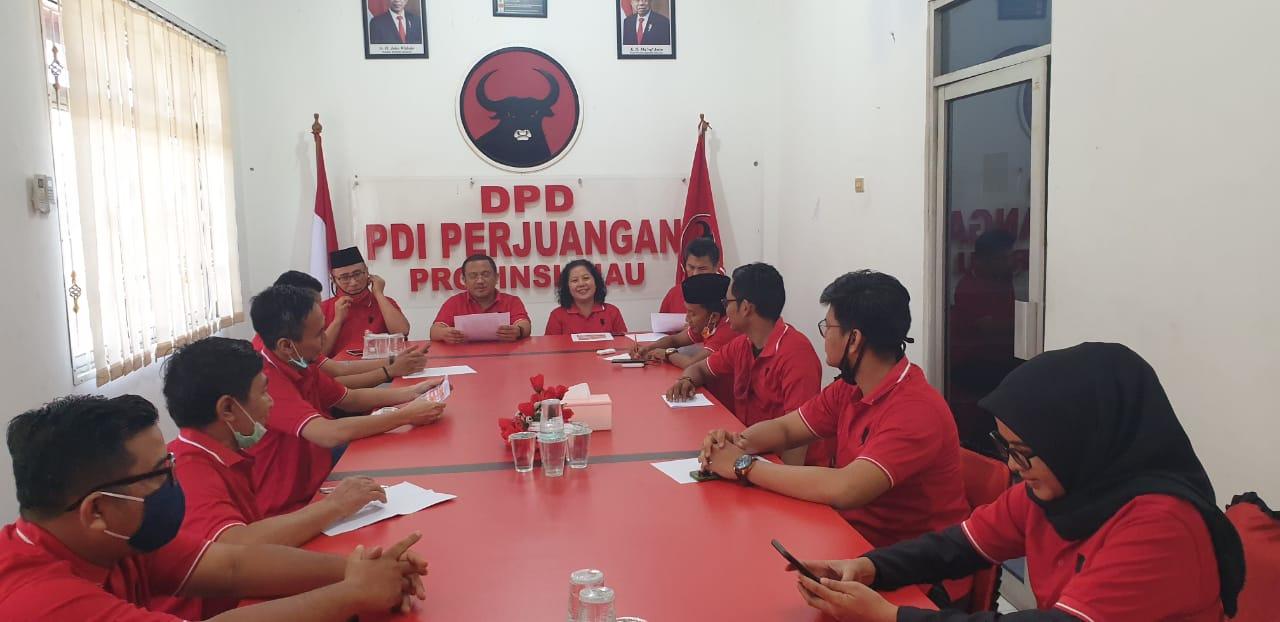 Meriahkan Bulan Bung Karno, PDI Perjuangan Riau Gelar Lomba Vlog Hadiah Ratusan Juta