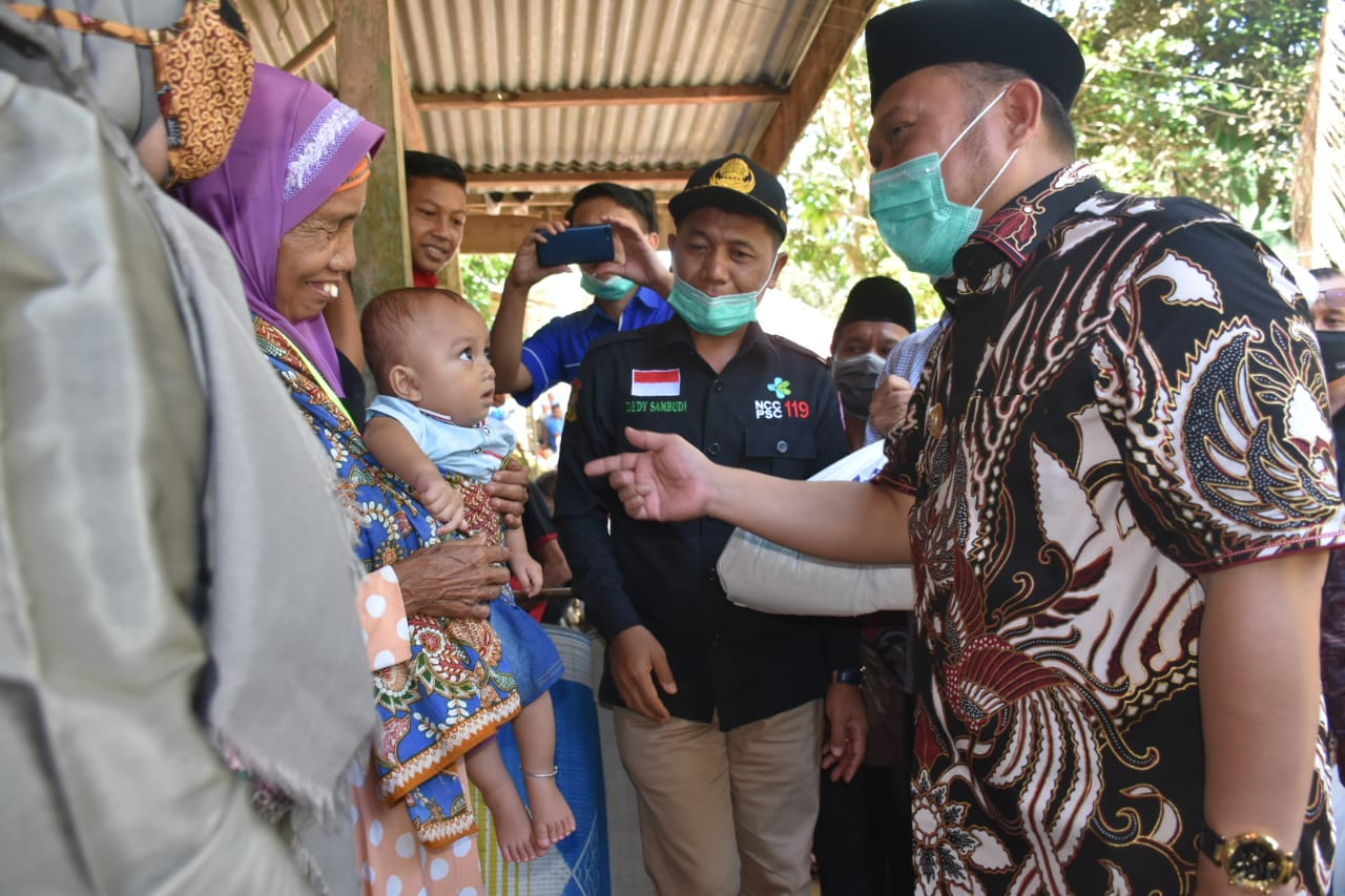 Entaskan Stunting di kampar, Catur Sugeng Canangkan Konvergensi Intervensi Stunting di Desa Tanjung Karang