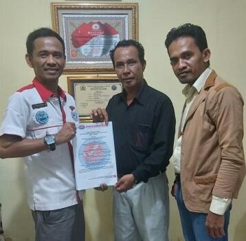 DPD Kabupaten Bengkalis Resmi di SK kan,Ini Pesan Ketua dan Sekretaris DPW PWOINusantara Provinsi.Riau