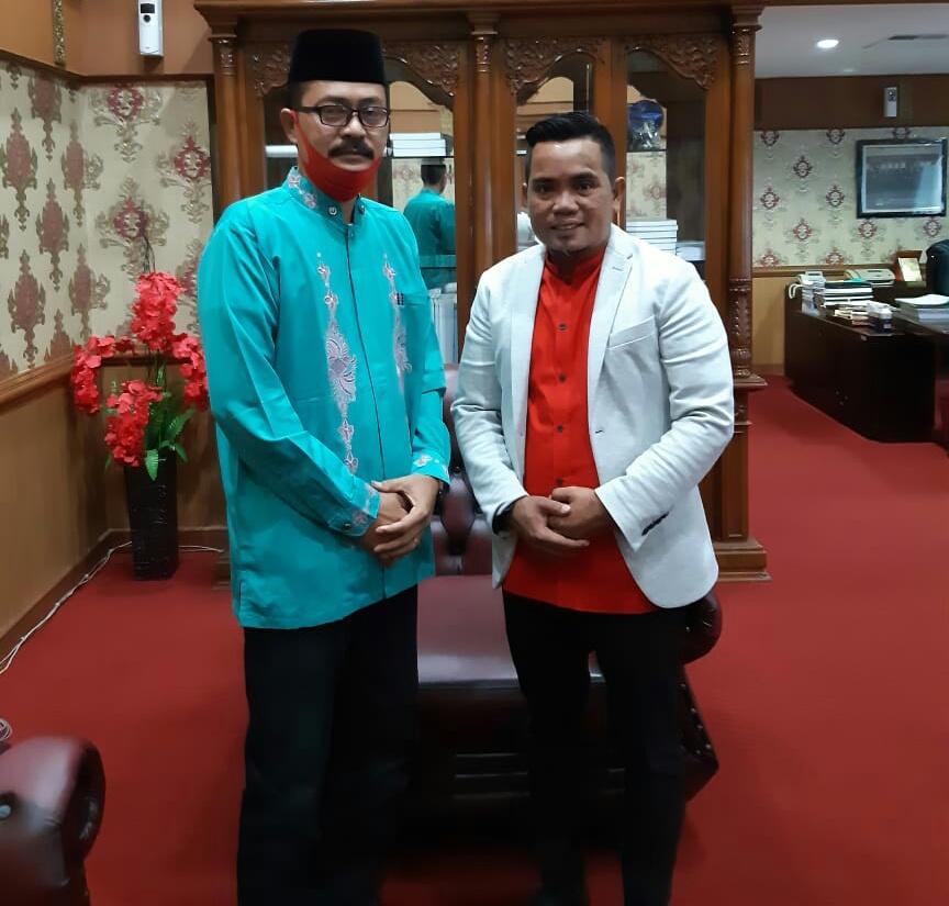 Pertemuan Ketum Dan Pembina FK Kerajinan Tangan dan Karya Seni Riau