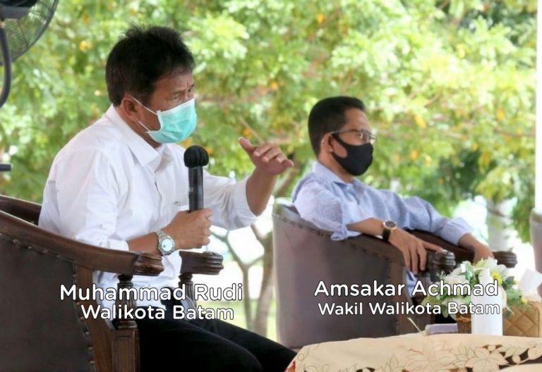 Batam Menuju Zona Hijau, Rudi Minta Masyarakat Tetap Patuhi Protokol Kesehatan