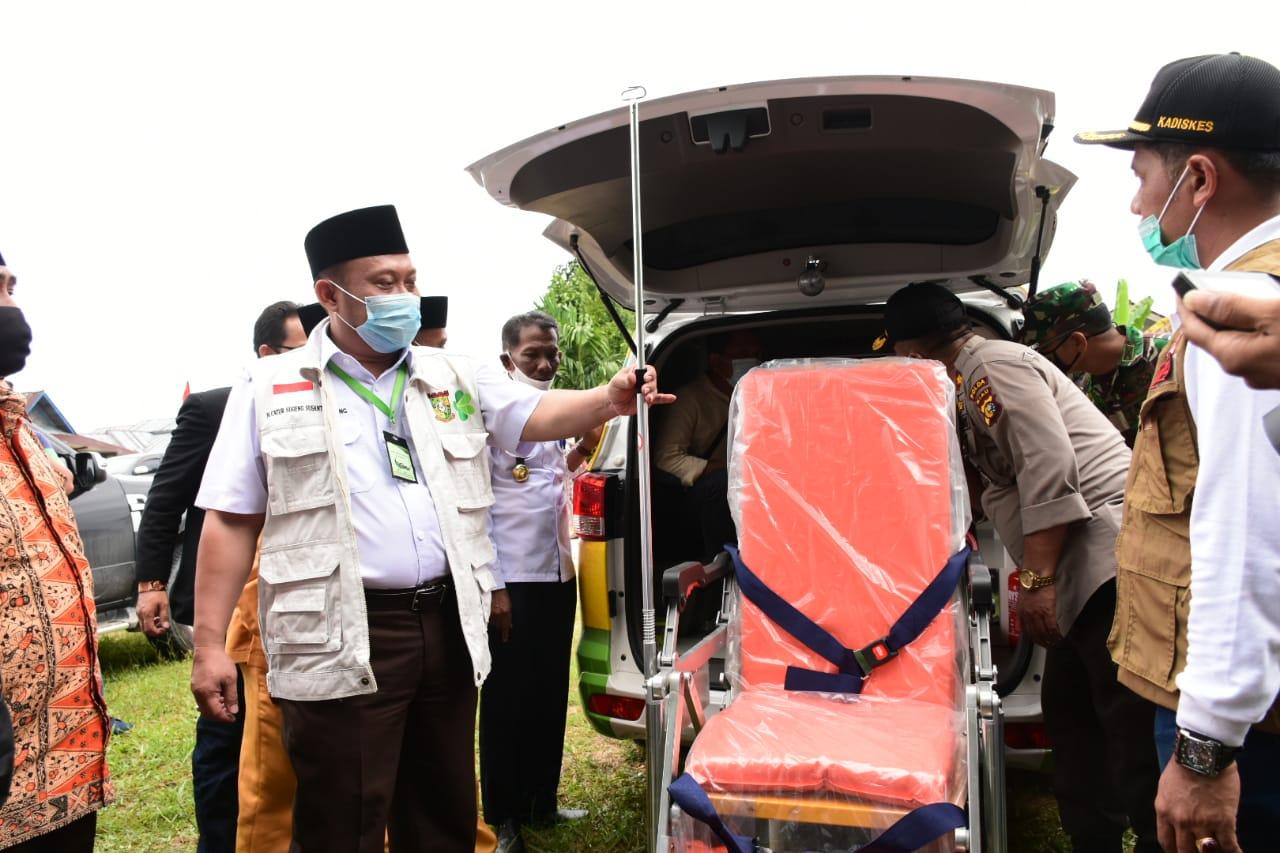 Pengadaan Ambulance Bentuk Komitmen Pemkab Kampar Tingkatkan Pelayanan Kesehatan