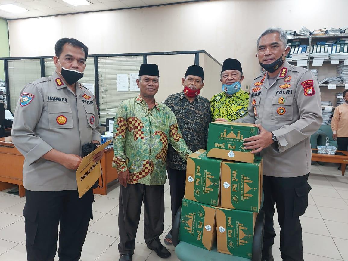 KBP Badya Wijaya, SH.,MH Sambangi Masjid Raya Islamic Center Jakarta Utara