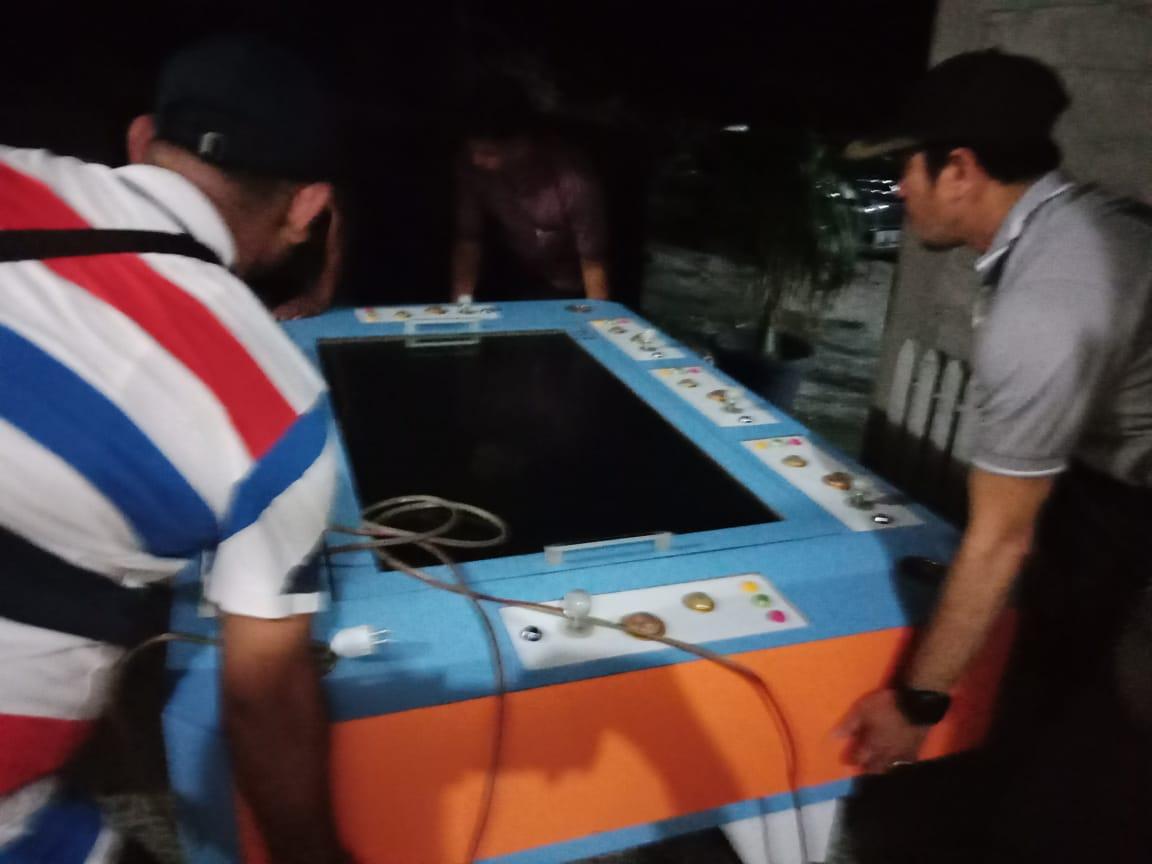 Polsek Tapung Hilir Amankan Mesin Gelper Ikan-ikan di Simpang Membot Desa Kota Garo