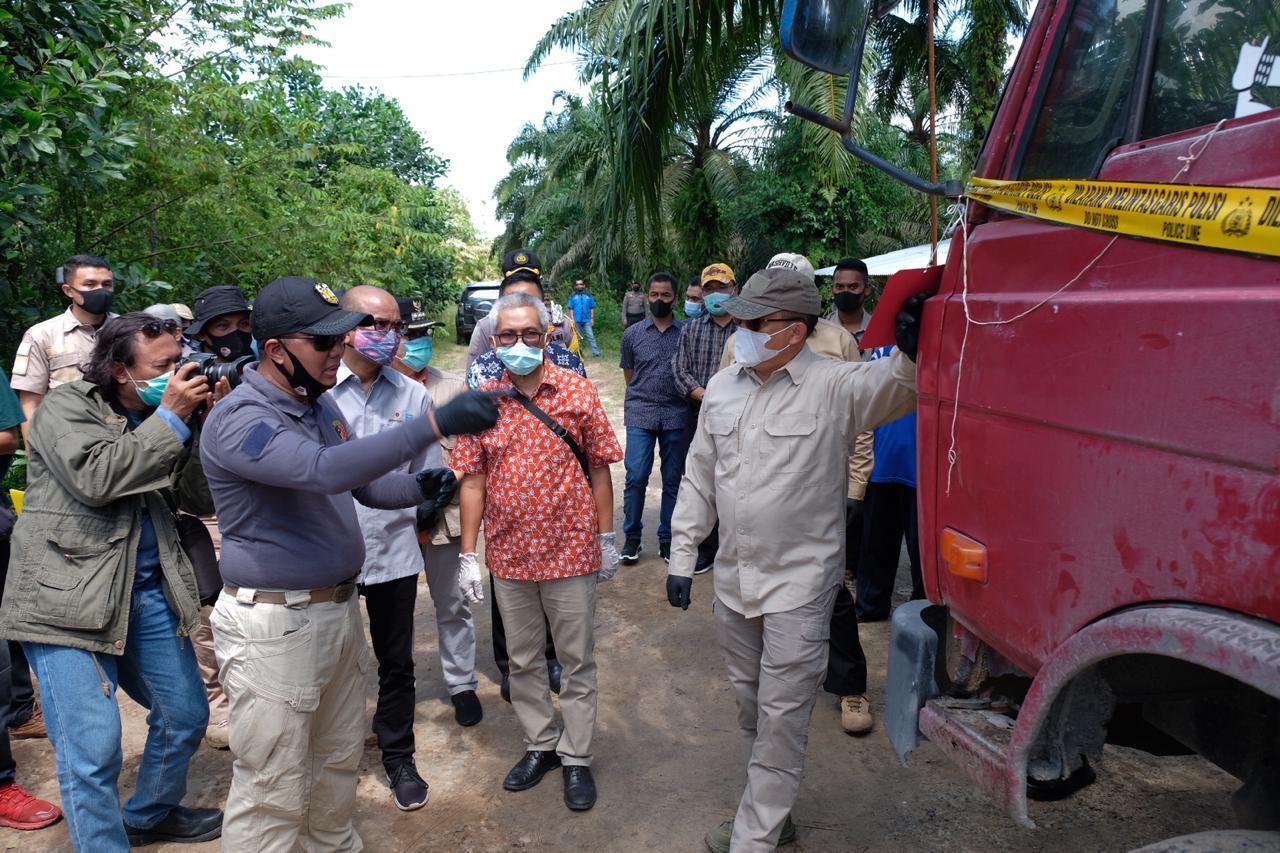Update Penanganan Kasus Penyulingan Minyak Illegal Di Dumai, Polda Riau Dalami Peran Korporasi