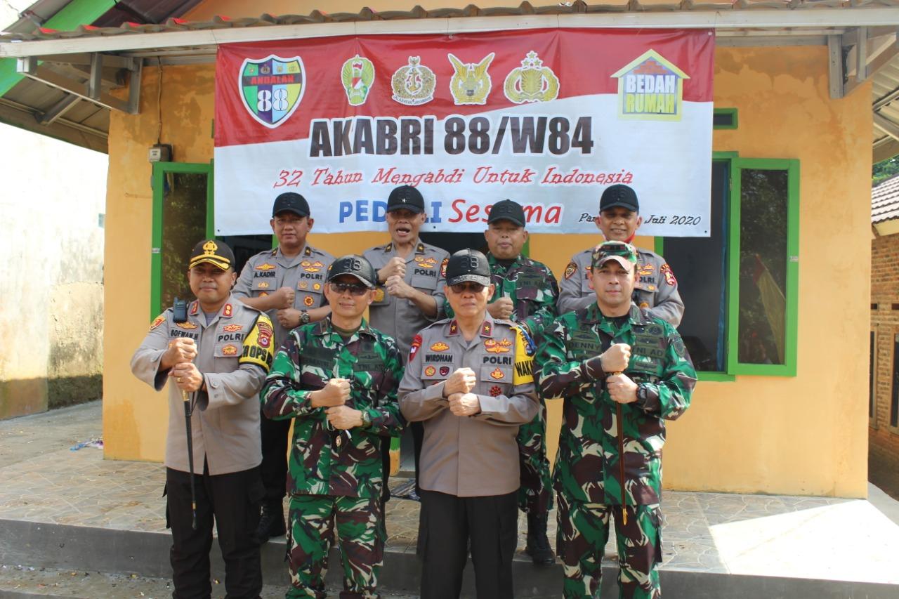 Alumni Akabri 88/W84, Peduli Warga Dan Lakukan Bedah Rumah di Banten